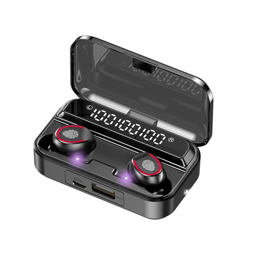 Новый Стиль фонарик V13 Hi-Fi USB 5,0 лучшие наушники Беспроводной динамик с светодиодный Auriculares F9 уф стерилизация PK M15 M12