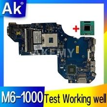 AKemy для HP ENVY M6 M6-1000 M6-1125dx M6-1200 серии 698395-501 698395-601 QCL50 LA-8713P материнская плата для ноутбука