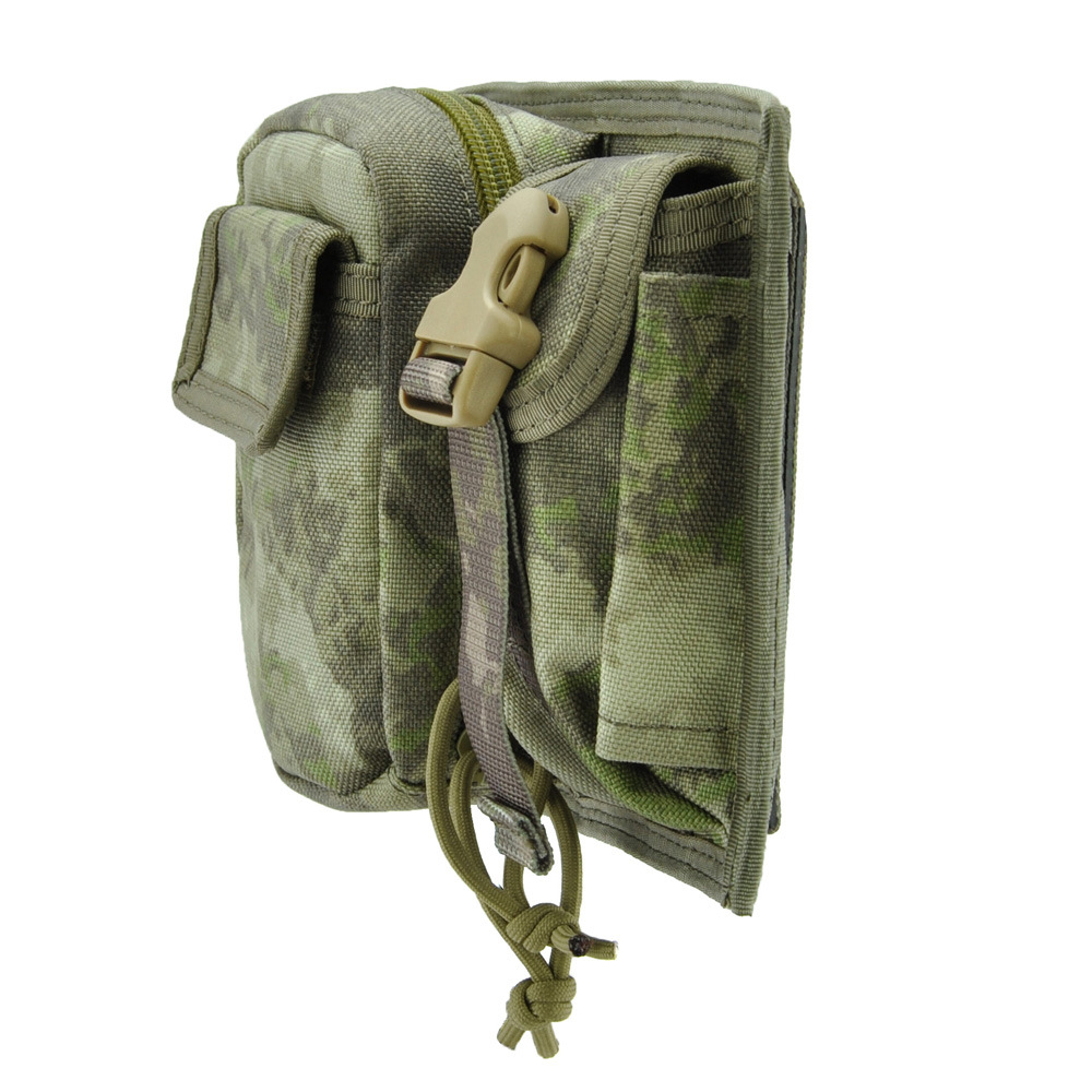 MOLLE System Tactical Qin Wu Bao Outdoor Accessories Bag Commuting Parts Nylon Phone Bag Small Waist Pack