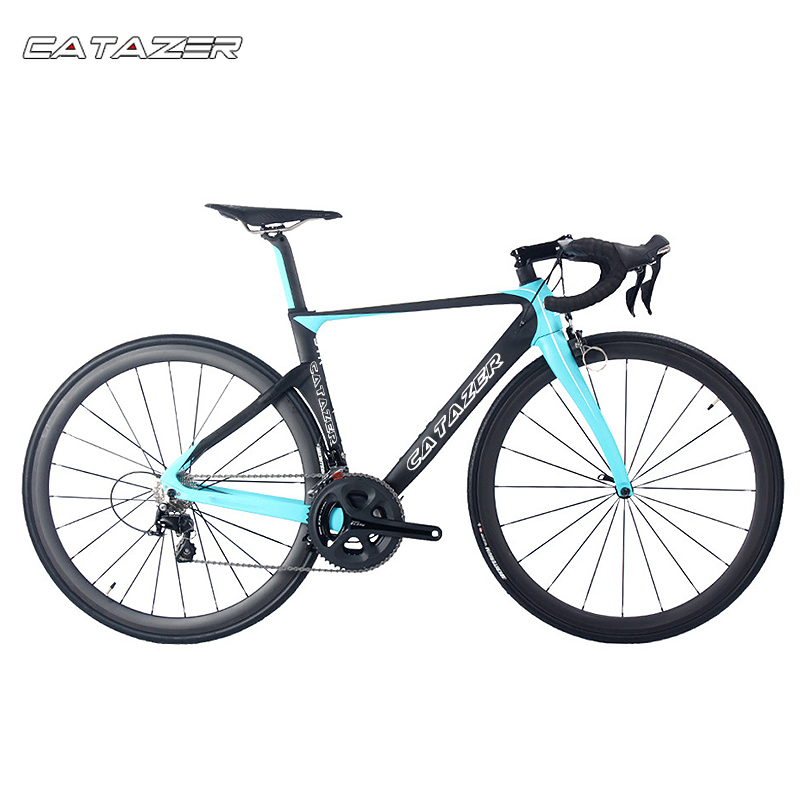 CATAZER 700C Road font b Bike b font Super Light T800 Carbon Frame Racing Road Bicycle