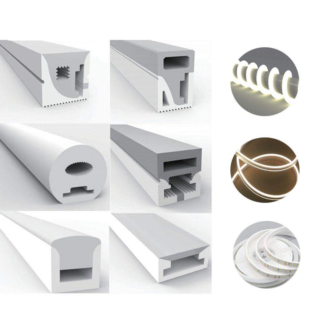 3 мм, 5 мм, 6 мм, 8 мм, 10 мм, WS2812B, WS2811, SK6812LED неоновая веревка, трубка, силикагель, гибкий светильник, мягкая лампа, трубка IP67, водонепроницаемая для