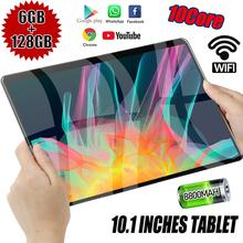 10 inch 4G LTE Tablet PC Dual Sim Dual cameras Android 9.0 Octa Core 6GB RAM 128GB ROM IPS 5G WiFi Bluetooth  kids tablet
