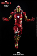 1/9 Scale DFS045 Iron Man MK11 Mark XI Action Figure Model with Base The Avengers Alloy DIECAST SCENE SERIES for Fans Collection
