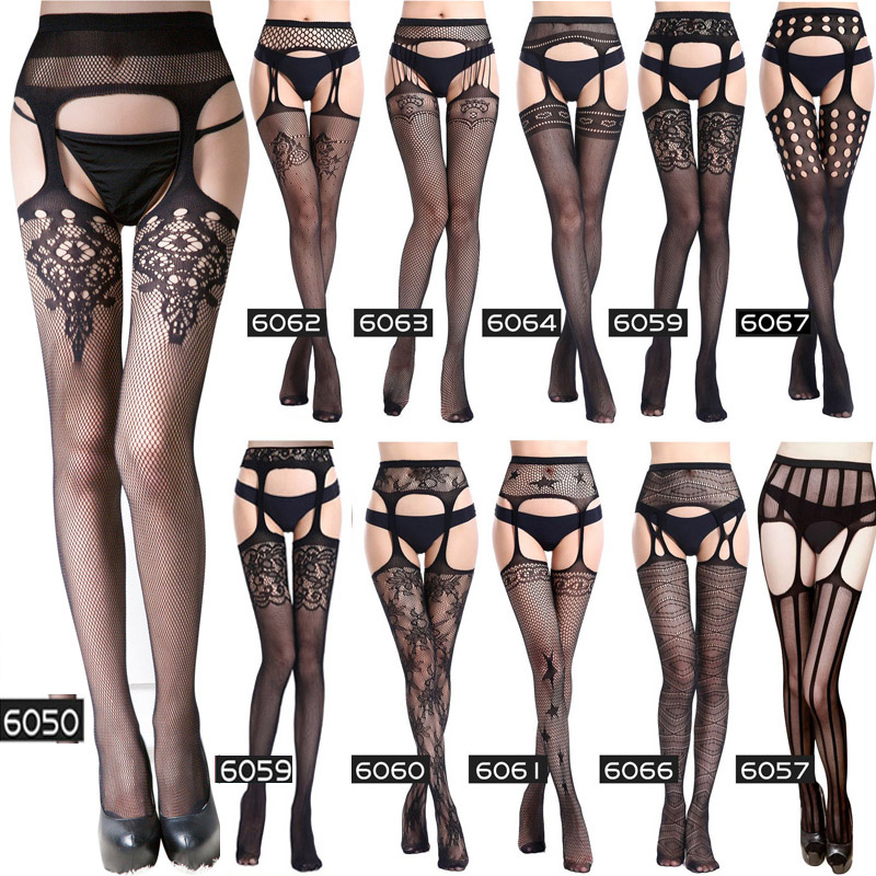 Women Sex Costumes Bondage Fishnet Stockings Erotic Lingerie Baby Doll Sexy Lingerie Porn Pantyhose Langerie Mujer Sex Underwear
