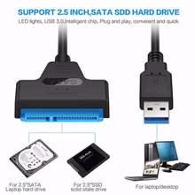 Кабель usb 30 sata 3 адаптер к до 6 Гбит/с Поддержка внешнего