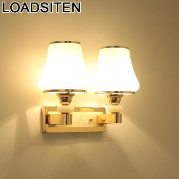 Coiffeuse Avec Miroir Luminaria Wandlamp Lampara De Pared Interior For Home Applique Murale Luminaire Crystal Wall Bedroom Light