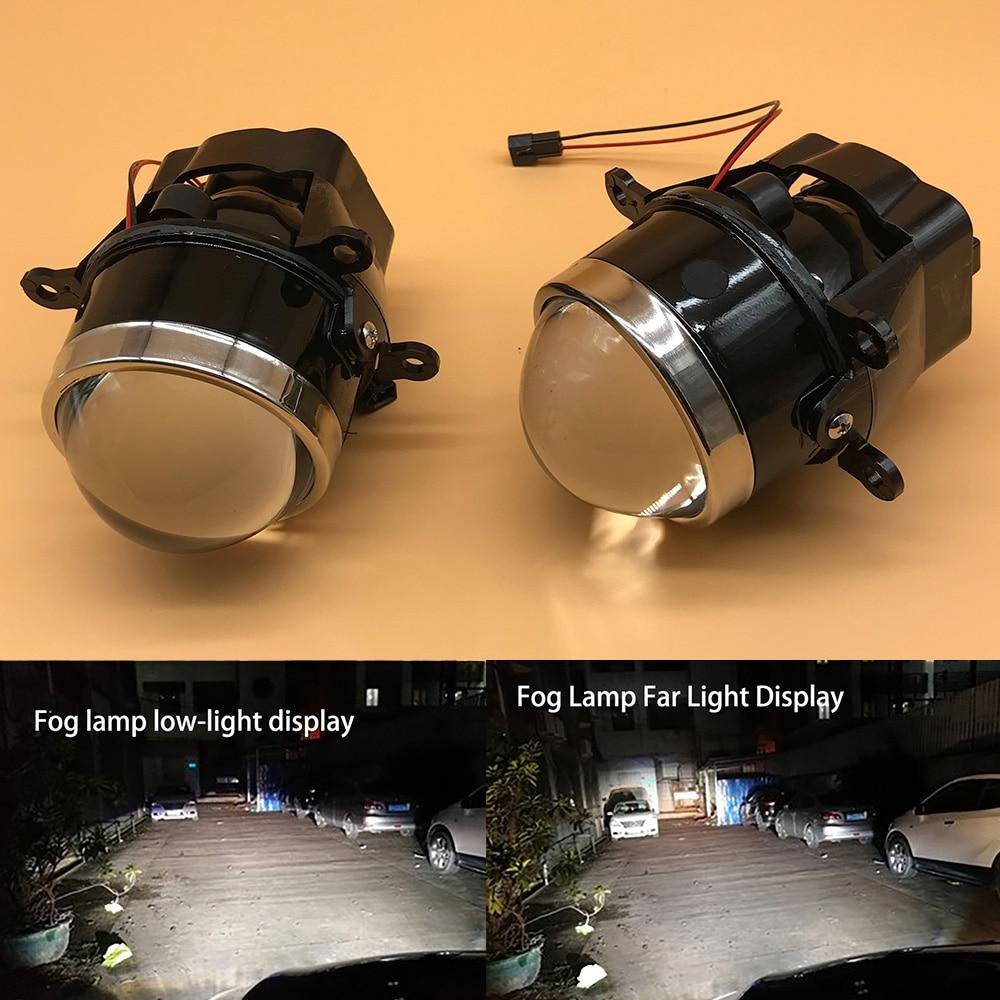 NEW LED Xenon H11 Lens Fog Light Automobile Refitting For Renault Duster Megane 2/3 Fluence Koleos Kangoo 2003-2015