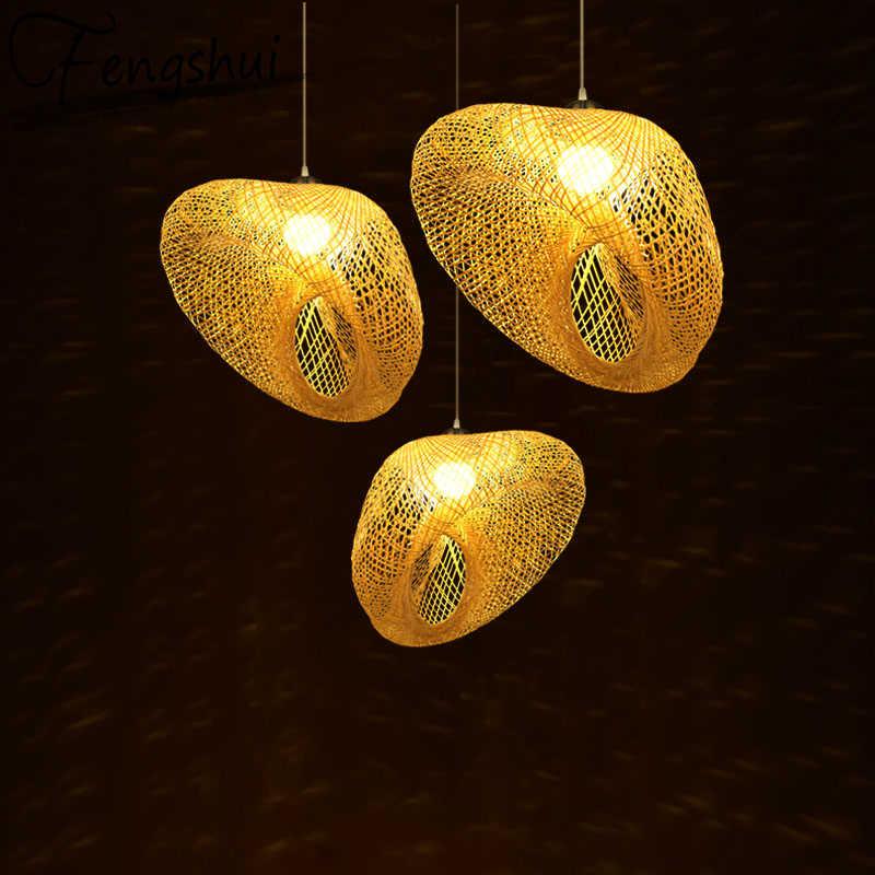 Деревянные светодиодные подвесные светильники для Юго Восточной Азии