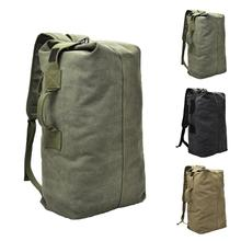Fashion Outdoor Travel Luggage Army Bag Portable Men Solid C