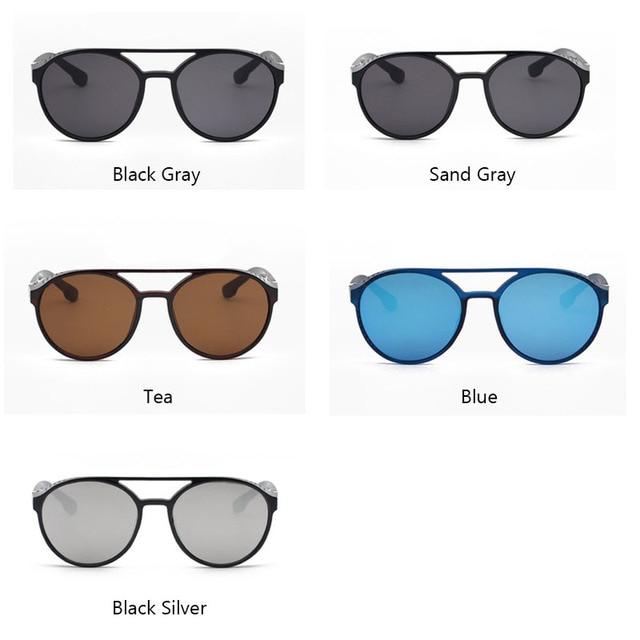 RBRARE-Gafas De Sol clásicas Steampunk para hombre, lentes De Sol De diseñador De marca De lujo para hombre, anteojos De Sol Vintage para conducir al aire libre para Mujer 6