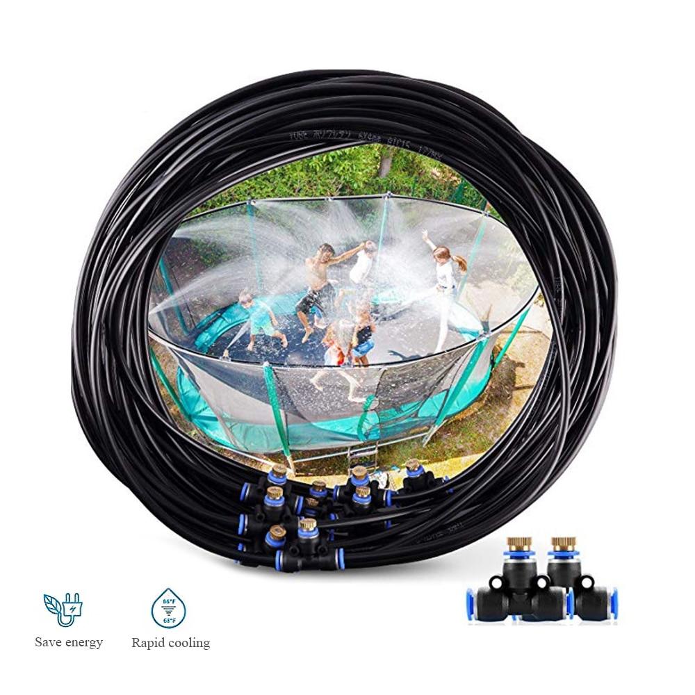 15M Trampolin Sprinkler Outdoor Wasser Park Gewidmet PE Hochdruck Zerstäubung Kühlung Rohr Wasser Spielzeug Amusement sprinkler