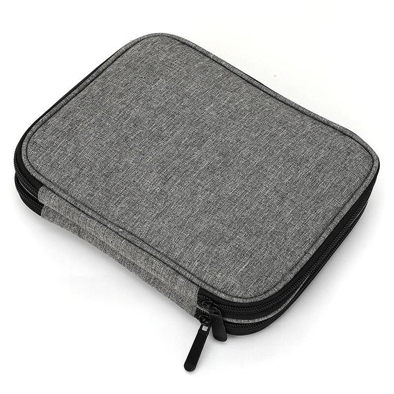 ABDB-Travel Organizer Zipper Bag For Various Crochet Hooks, Interchangeable Circular Knitting Needles And Other Accessories (NO