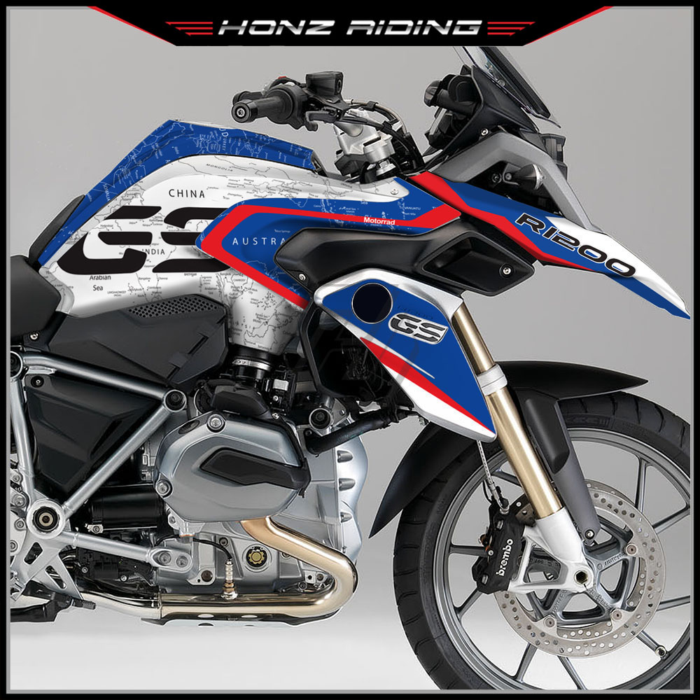For BMW R1200GS R1200 GS 2014-2018 Motorcycle Body Decals Kits