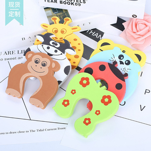 Image 3 - 5pcs Baby Child Proofing Door Stoppers Finger Safety Guard Random Holder Lock Safety Guard Finger Protect Kid Toys For Baby Born