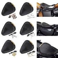 Motorccyle Solo Rider Seat Spring Bracket Kit For Harley Dyna Sportster Bobber Saddle Chopper Honda Yamaha Suzuki Models