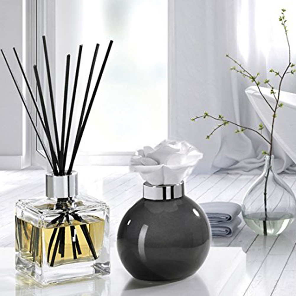 30/40/50/100pc Rattan Reed Sticks Fragrance Reed Diffuser Aroma Oil Diffuser Rattan Sticks For Home Bathrooms Fragrance Diffuser