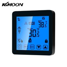 KKMOON Digital WiFi Touch Screen Programmable Room Temperature Controller Heating Thermostat Water Gas Boiler Thermoregulator