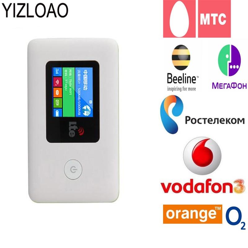 YIZLOAO  WIFI Router Car Mobile Hotspot Wireless Broadband Pocket Mifi Unlock LTE Modem Wireless Wifi Extender Repeater Mini Rou
