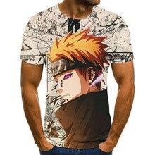 Anime Harajuku Men's T-shirt Men's Anime Theme Tops Anime 3DT-Shirts Summer Fashion Boys Clothing Large Size Streetwear