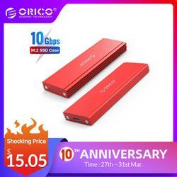 ORICO M2 корпус SSD NVMe NGFF M.2 SSD HDD корпус USB3.1 Тип-C Gen2 10 Гбит/с для samsung Intel 2230 2242 2260 2280 NVME SSD SATA SSD