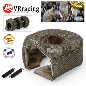 Vr-100% cheio de titânio t3 turbo carregador calor escudo cobertura cobertura apto para: t2 t25 t28 gt28 gt30 gt35 acessórios do carro