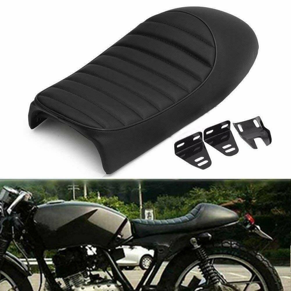 Universal Motorcycle Cafe Racer Seat Custom Vintage Retro Hump Saddle Flat Pan For Honda GN CB350 CB400 CB500 CB750 SR400