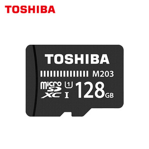 Original Toshiba M203 Memory Card Micro SD 256GB 128GB SDXC 64GB 32GB 16GB SDHC UHS-I TF Card For Phone