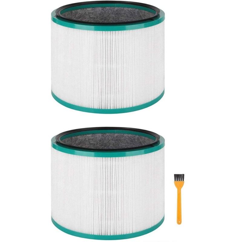 2 шт., сменные HEPA-фильтры для Dyson Pure Cool Link DP01, DP02 и Dyson Pure Hot + Cool Link HP01, HP02