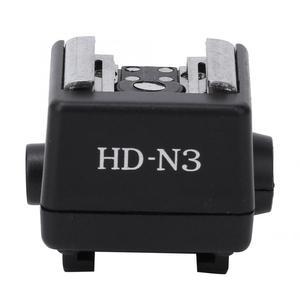 Image 1 - HD N3 플래시 라이트 핫슈 장착 어댑터 소니 a100 a200 a230 a300 a330 a350 a700 a900 비디오 카메라 용 비디오 액세서리