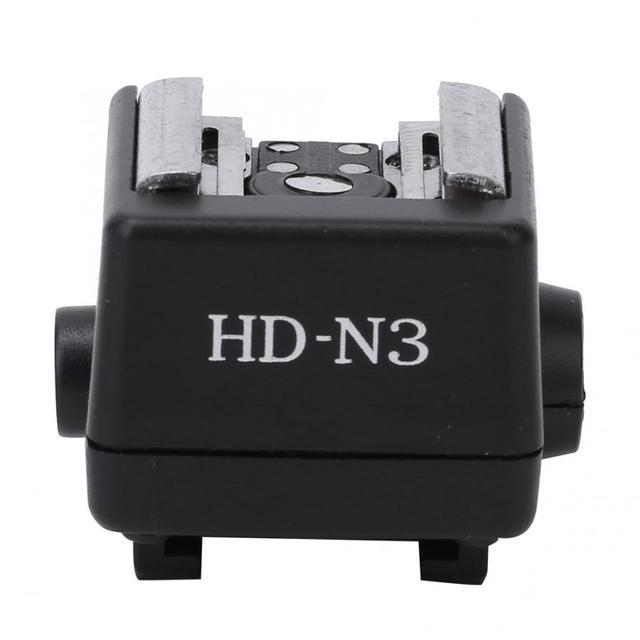 HD N3 플래시 라이트 핫슈 장착 어댑터 소니 a100 a200 a230 a300 a330 a350 a700 a900 비디오 카메라 용 비디오 액세서리