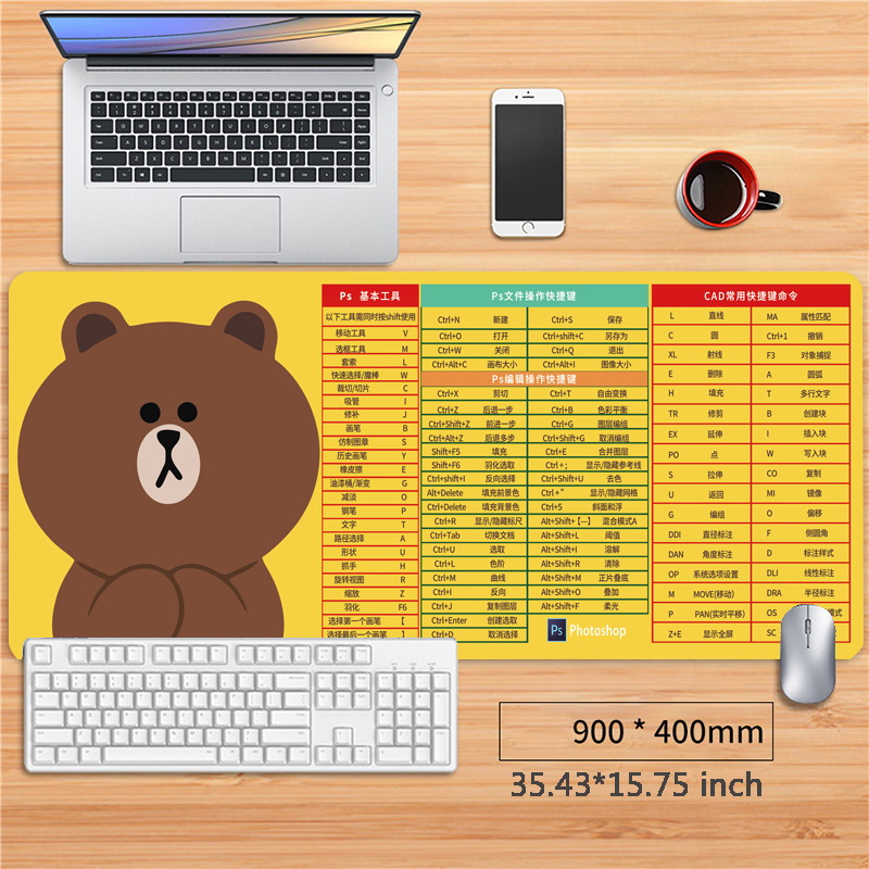 Desk Pad Protector Mouse Pad Desk Blotter Laptop Desk Pad Waterproof Writing Pad Mat office Desk Mat NonSlip for Office and Home