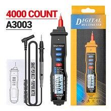 ANENG A3003 penna multimetro digitale NCV AC/DC voltmetro ohmmetro resistenza capacità frequenza Live Line Test Tester portatile