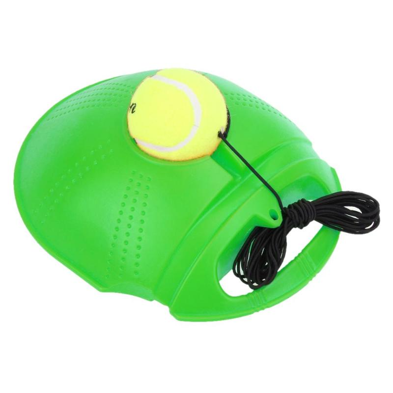 Tennis Training Tool Exercise Ball Sport Self-study Rebound Ball Trainer With Baseboard Exercise