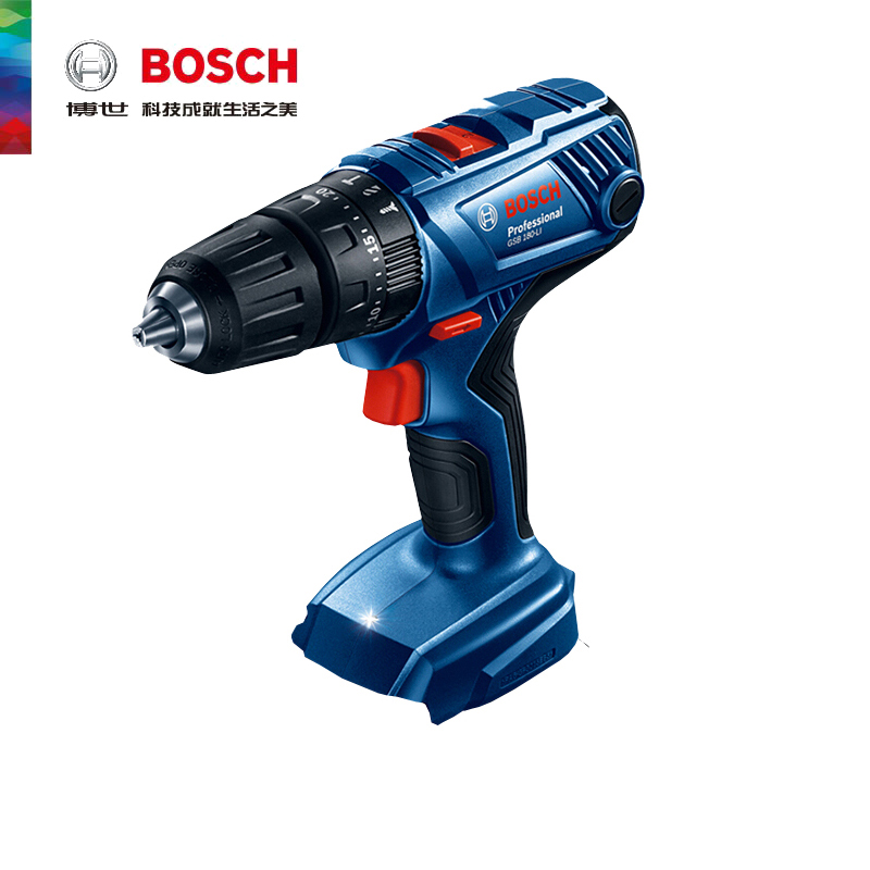 Bosch GSB 180-LI electric drill lithium pistol drill impact drill 18V household multifunctional electric screwdriver power tool