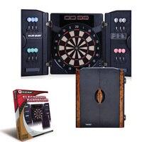 Electronic dartboard with cabinet automatic scoring electronic dart tray bar Folding dart box Professional game