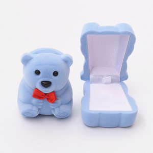 3 Color Mini Cute Bear Jewller