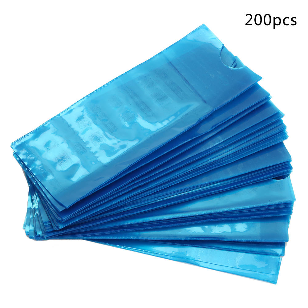 150/200pcs Tattoo Clip Cord Line Bags Disposable Tattoo Machine Hook Line Protection Bag Durable Senior Tattoo Accessory