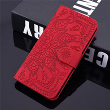 Tikitaka Flower Wallet Leather Case For Samsung J7Prime J710 S8 S9 Plus Flip Phone Cover For Galaxy S9 S9Plus Note 9 A6 2018(China)