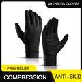 Магнитные перчатки для лечения артрита, ревматоидной боли в руке, поддержка запястья, спортивные перчатки безопасности