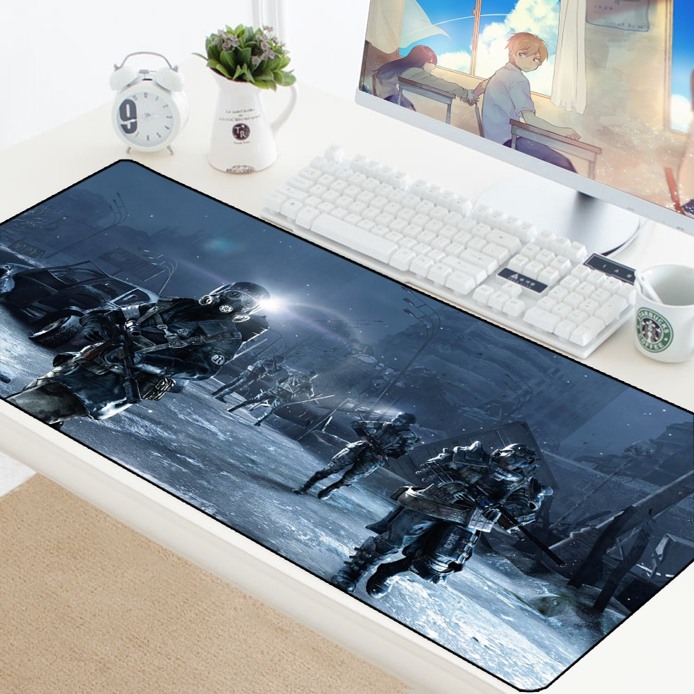 Escape from Tarkov Mouse Pad Big Gamer Play Mats Computer Gaming Accessories XL Large Mousepad Keyboard Rubber Games pc Desk Pad 4