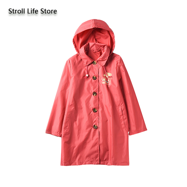 Parent-Child Raincoat Kids Rain Coat Partner Women's Adult Red Rain Poncho Jacket Waterproof Suit Capa De Chuva Birthday Gift 5