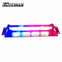 Coxswain 6E2B High Brightness Car LED Windshield Dash Light Police Fire Truck Warning Strobe Light 54W 22 Flash Pattern