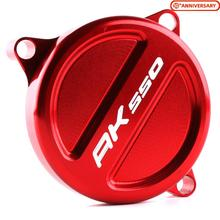 For KYMCO AK 550 AK550 2017 2018 Front Sprocket Chain Guard Cover Protector Motorcycle Scooter Accessories CNC Aluminum Alloy