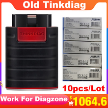 10PCS/Lot Old version Thinkdiag full system OBD2 Scanner Diagnostic Tool OBDII Code Reader 15 reset services PK AP200 easydiag