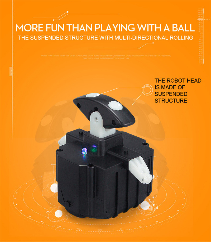Intelligent Robotic Toys With Remote Control And Music Sound For Children