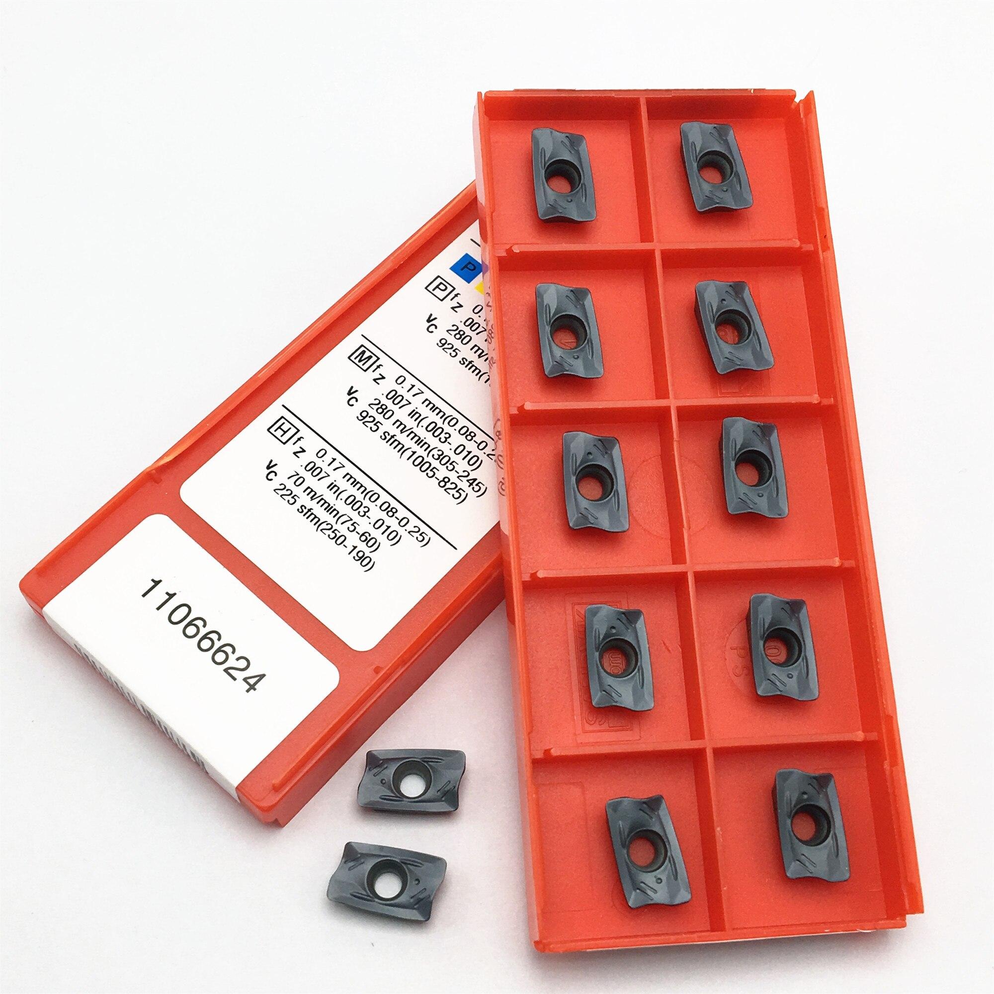 100PCS Freies Verschiffen R390 11T308M PM 1130 Hartmetall Insert Fräsen Maschine Gesicht Fräsen Werkzeug R39011T308M PM1130 Drehmaschine Werkzeug Klinge