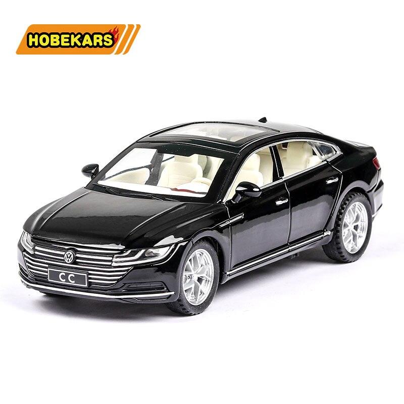 Diecast modelo carro cc 132 liga de metal alta simulação carros luzes meninos brinquedos veículos presentes para crianças