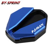 New Item NMAX 155 Motorcycle CNC Foot Side Stand Enlarge Extension Kickstand Pad Plate For Yamaha N-MAX155 nmax155 2020