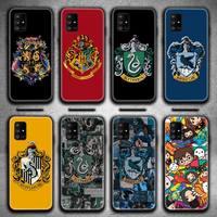Varita alfareros anillo Harries caso de teléfono para Samsung Galaxy A52 A21S A02S A12 A31 A81 A10 A30 A40 A50 A70 A80 A71 A51 5G