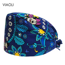 new Pet Surgical Cap Medical Work nurse Hats pharmacy Adjustable Sweatband Oral cavity Dental Clinic Hats doctor hat surgery cap 2016 medical clothing suit womens surgical caps scrub for dental clinic doctors 100% cotton adjustable back working cap alx 144